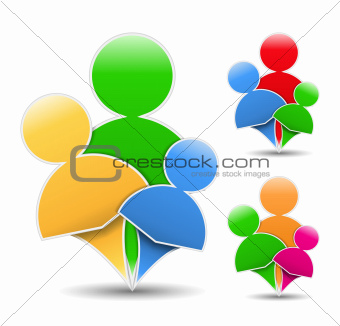 Abstract Family Icon