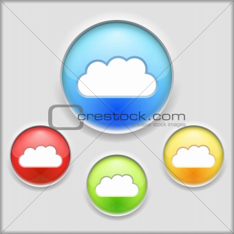 Icon of a cloud