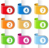 Ribbons with numbers