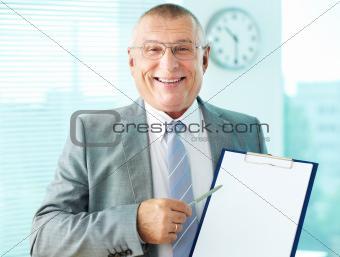 Senior boss