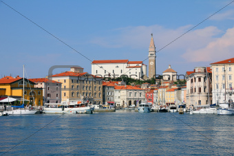 Marina, Piran - Slovenia.