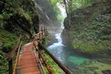 Canyon Vintgar, Triglav - Slovenia,
