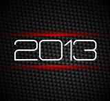 2013 hight tech style new year background