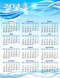 2013 year calendar.