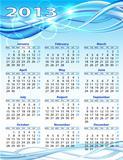 2013 year calendar.