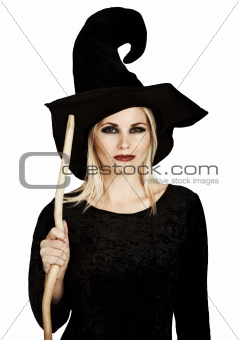A witch and her broomstick are seldom parted