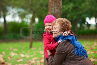 Outdoor fun with gran