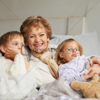 She loves her grandkids
