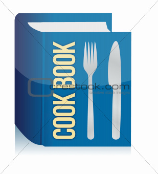 cookbook and kitchenware