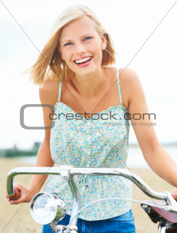 She enjoys cycling so much