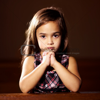Looking for someone to answer her prayers