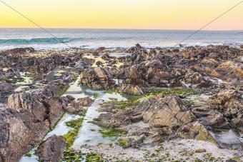 The Atlantic Ocean Coast in South Africa