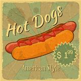 Grunge Cover for Hot Dogs Price