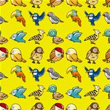 seamless bird pattern