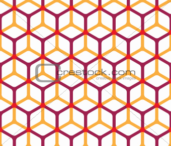 Abstract cube pattern