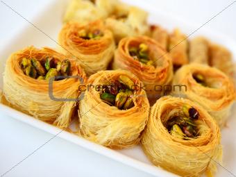 Arabic baklava