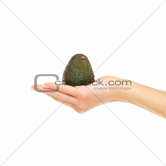 The perfect ripe avocado