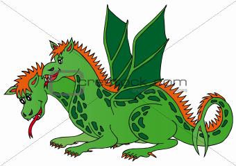 Two headed dragon