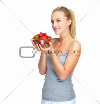 Healthy food choices are her perogative
