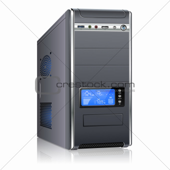Modern Computer Case