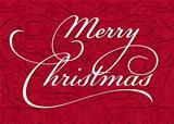 Vector Christmas Ornate Background