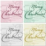 Vector Ornate Christmas Frames