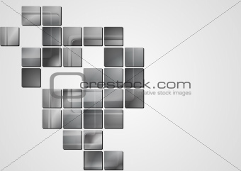 Abstract grey vector design