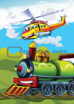 The locomotive and the flying machine