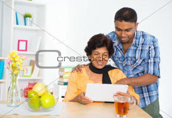Using digital computer tablet
