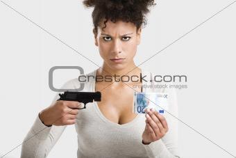 Shooting money