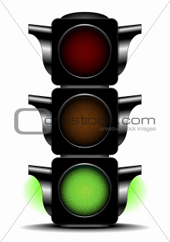traffic light green