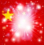 Chinese flag background