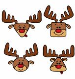 Cute Happy deers