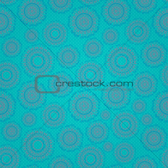 Blue Green Abstract Seamless Background