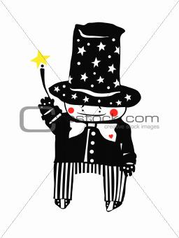 Small magician.