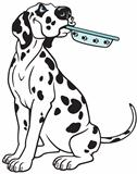cartoon dalmatian