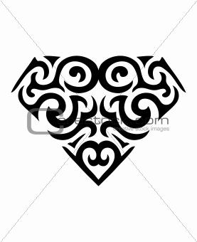 Diamond Symbol Tattoo