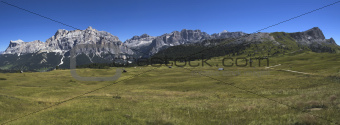 view of mountain, Alta Badia - Dolomites