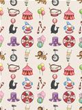 seamless Circus pattern
