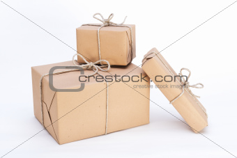 parcels ready for dispatch