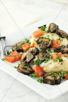 Zesty Chicken with Tomatoes and Cheese