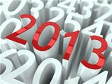 New year 2013 background.
