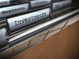 Business and investments folder