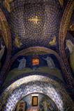 Mosaic of the galla placidia mausoleum in Ravenn