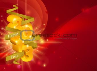 2013 Happy New Year Decorations