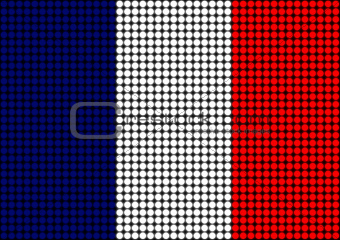 Abstract France Flag