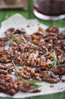 Roasted walnuts