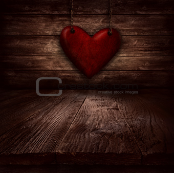 Valentines design - Heart in chains