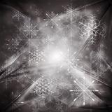 Abstract X-mas background. Vector illustration