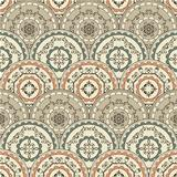 Vector Seamless Vintage Oriental Pattern